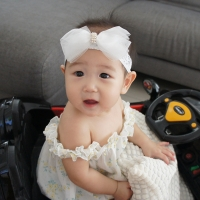 Baby Headband Ribbon Sheer (BHB8070)