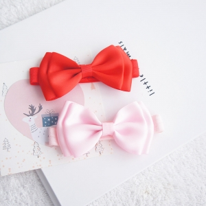 Baby Headband Ribbon Bow (BHB8078)