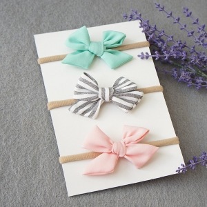 Baby Headband Bow Seamless (BHB8143)
