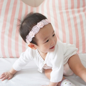 Baby Headband Lace Floral (BHB7866)