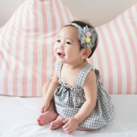 Baby Headband Floral Sheer (BHB7887)