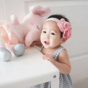 Baby Headband Floral Lace (BHB8146)