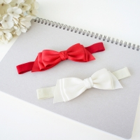 Baby Headband Ribbon Bow (BHB8200)