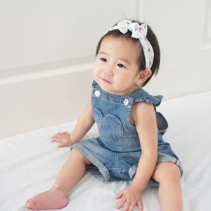 Baby Headband Wide Bow (BHB8284)