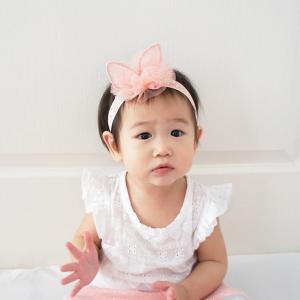 Baby Headband Bunny Lace (BHB8079)