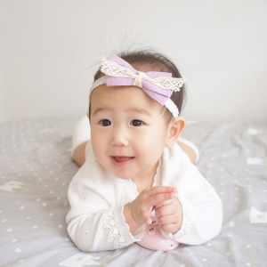 Baby Headband Bow (BHB7843)