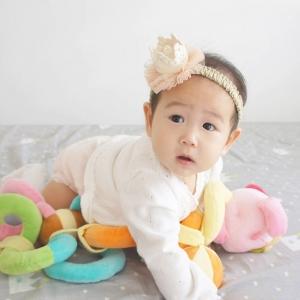 Baby Headband Crown Lace (BHB7842)