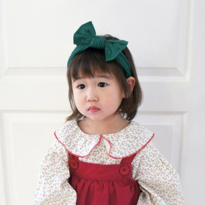 Baby Headband Wide Bow (BHB8251)