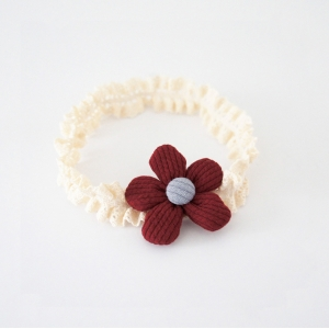 Baby Headband Floral Lace (BHB8383)