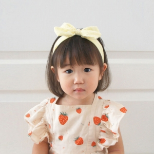 Baby Headband Bow Stripe (BHB8393)