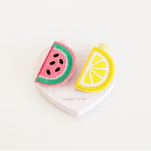 Girl Hair Clip Fruit Shimmer (GHP8307)
