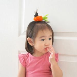 Girl Hair Tie Carrot Wool (GPT8388)